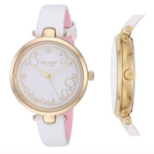 NWT Kate Spade Holland Unwind Leather Watch